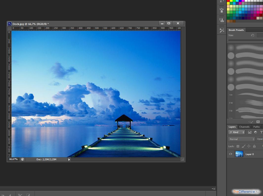 Как сделать фотографию четче в фотошопе