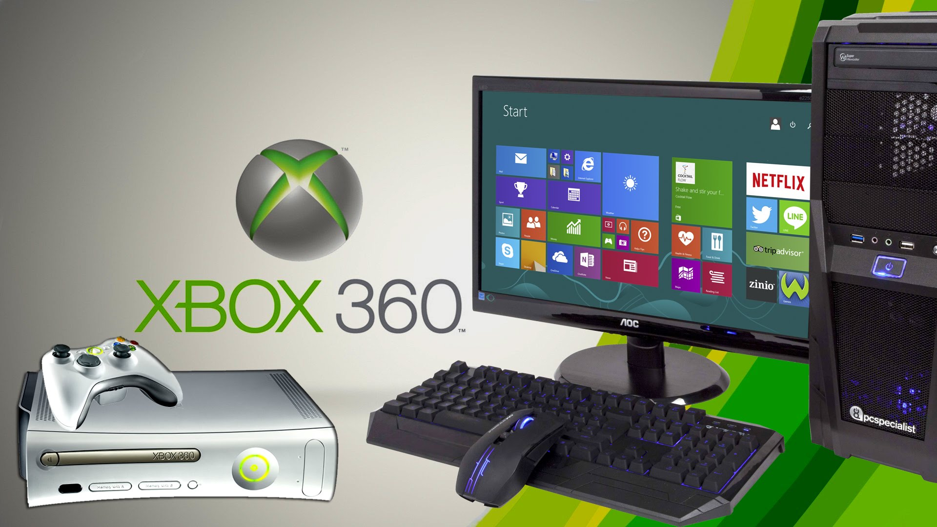 Как играть в игры xbox 360 на pc