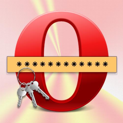 Как в Опере сохранять пароль