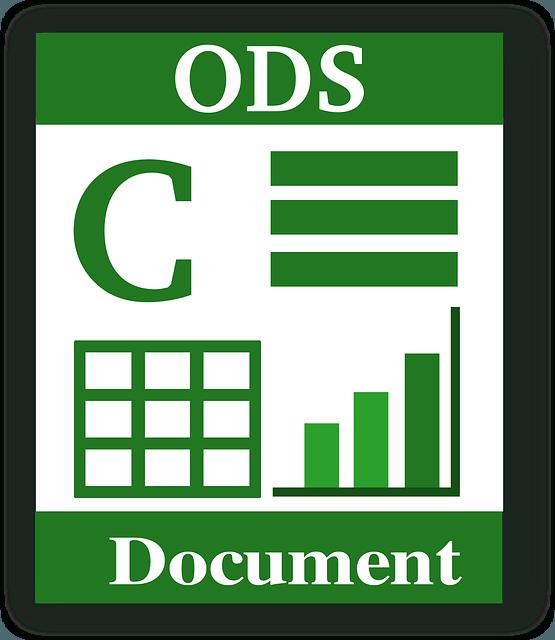 Как открыть формат ODS