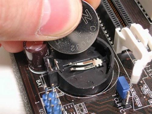 Батарейка, отвечающая за сохранность параметров компьютера