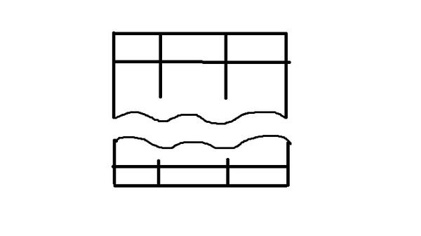 Как сделать разрывы в таблице