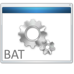 Как запустить bat файлом программу