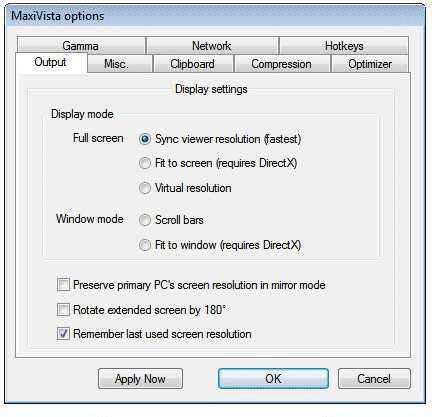 Программа MaxiVista