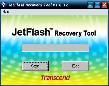 Приложение JetFlash Recover
