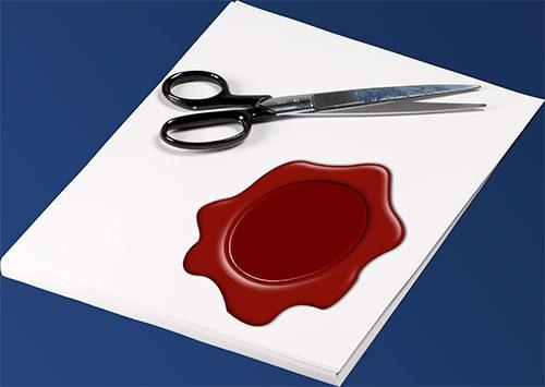 Как в Фотошопе вырезать печать