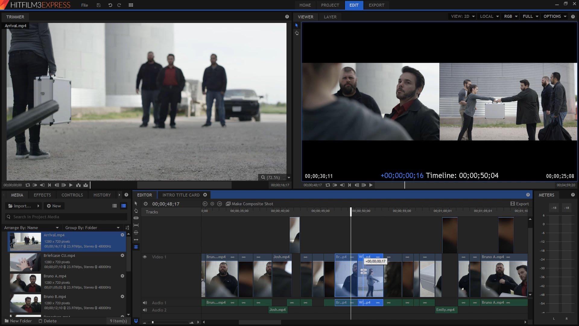 Редактор видео HitFilm Express