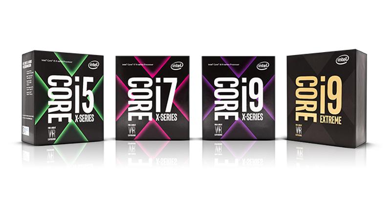 Процессоры Intel на 2018 год