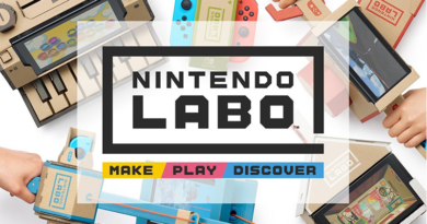 Nintendo Labo — картонный конструктор с игровой консолью