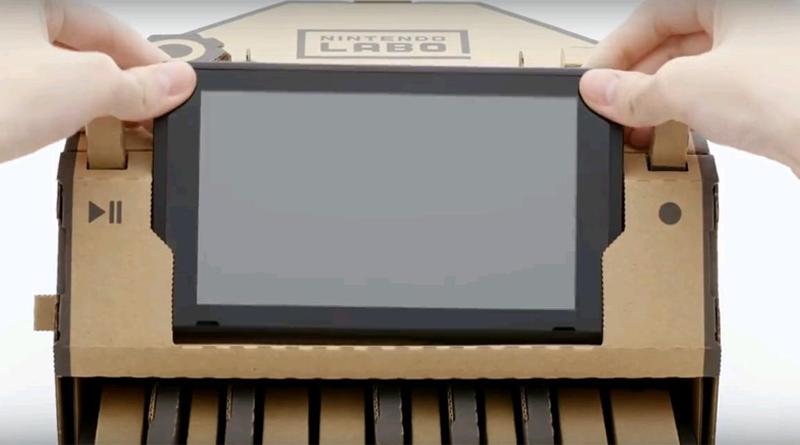 Пианино из Nintendo Labo