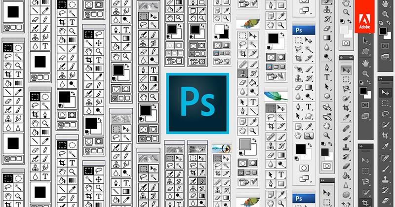 Эволюция Adobe Photoshop
