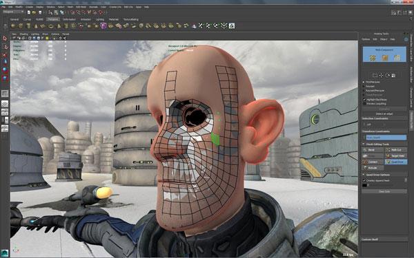 Скриншот к Autodesk Maya