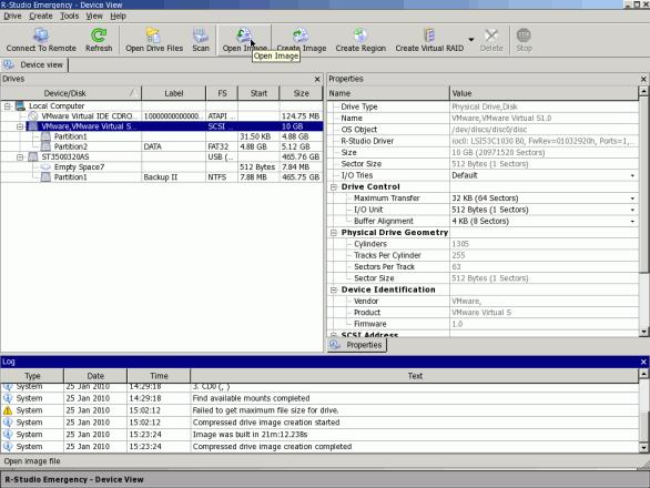 Скриншот к R-STUDIO