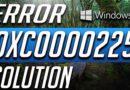 Как исправить ошибку 0xC0000225 в Windows 10