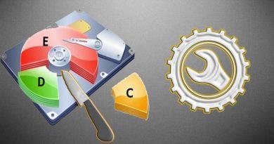 Как выполнить объединение разделов жесткого диска для Windows 10?