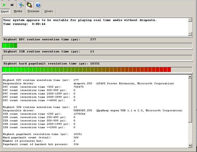 Скриншот к LatencyMon