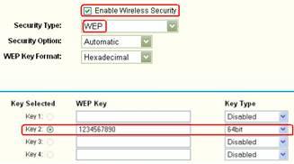 WEP шифрование