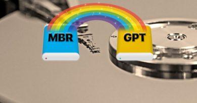 Как конвертировать MBR в GPT с помощью mbr2gpt.exe