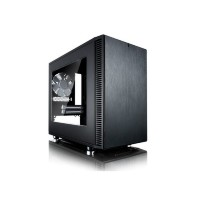 Корпус ITX FRACTAL DESIGN Define Nano S, Midi-Tower, без БП,  черный