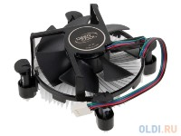 Кулер DEEPCOOL CK-11509 PWM LGA-1150/1155/1156 (96шт/кор, TDP 65W, вент-р 92мм, 900~2400%RPM, 17.8~30.54dBa) BOX