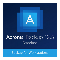 Acronis Backup 12.5 Standard Workstation License incl. AAS ESD