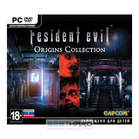 Resident Evil Origins Collection [PC, Jewel, русская документация] [1CSC20002111]