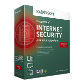 Kaspersky Internet Security Multi-Device лицензия на 1 год на 2 ПК