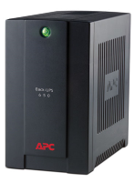 APC Back-UPS RS, 650VA/390W, 230V, AVR, 3xSchuko outlets (battery backup), DSL protection, USB, PCh., 2 year warranty (REP:BE525-RS,BR650CI-RS)