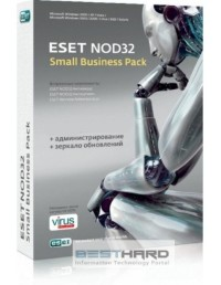 ESET NOD32 SMALL Business Pack. Базовая на 15 ПК [NOD32-SBP-NS(KEY)-1-15]