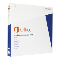Microsoft Office 2013 Professional (x32/x64) RU (электронная лицензия) [AAA-02790]