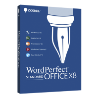 WordPerfect Office X8 Standard Single User Upg Lic ML [LCWPX8MLUG1]