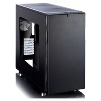Корпус ATX FRACTAL DESIGN Define C Window, Midi-Tower, без БП,  черный