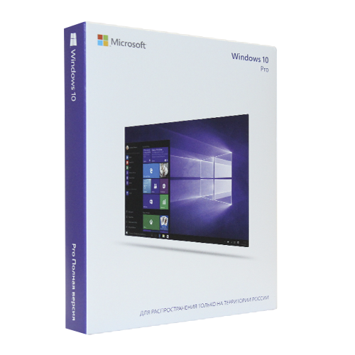 Microsoft Windows 10 Professional (Pro x32/x64) All Lng (электронная лицензия) [FQC-09131]