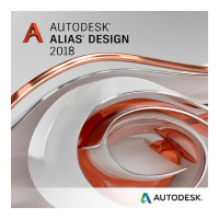 Alias Design 2018 Commercial New Multi-user ELD 3-Year Subscription [712J1-WWN892-T285]