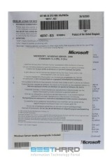 Microsoft Windows Server 2008 Standard R2 ROK (x64) 5 CAL 1-4 CPU EN OEM [4849MSM]