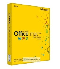 Microsoft Office 2011 Home and Student Mac 3 PC BOX [GZA-00317]