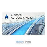 Autodesk AutoCAD Civil 3D 2017 Commercial New Single-user ELD 2-Year Subscription with Basic Support PROMO [237I1-WW4321-T721]