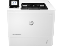HP LaserJet Enterprise M607n (A4, 1200dpi, 52ppm, 512Mb, 2 trays 100+550, USB/extUSBx2/GigEth, 1y warr, cartridge 11000 pages in box, repl. E6B67A)