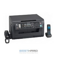 МФУ PANASONIC KX-MB2051RUB, A4, лазерный, черный [582596]