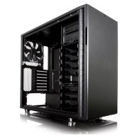 Корпус ATX FRACTAL DESIGN Define R5 Blackout Edition Window, Midi-Tower, без БП,  черный