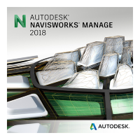 Navisworks Manage 2018 Commercial New Single-user ELD 3-Year Subscription [507J1-WW9193-T743]