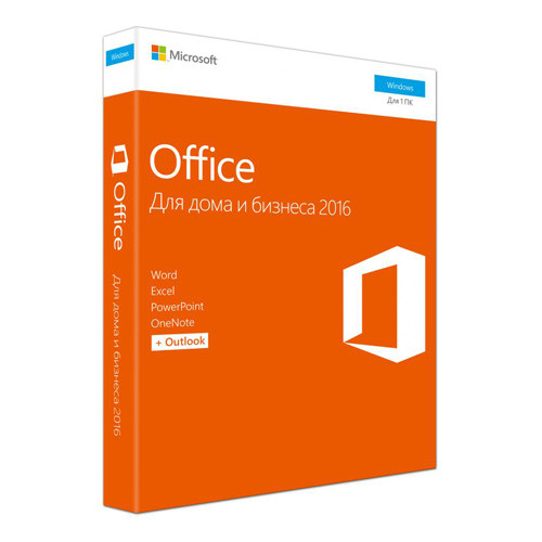 Microsoft Office 2016 Home and Business (x32/x64) RU BOX [T5D-02705]