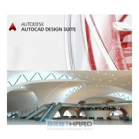 Autodesk AutoCAD Design Suite Premium Commercial Single-user 2-Year Subscription Renewal with Basic Support [768H1-006570-T526]