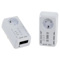 Сетевой адаптер HomePlug AV UPVEL UA-252PSK Ethernet