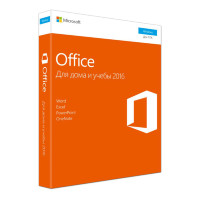 Microsoft Office 2016 Home and Student (x32/x64) All Lng (электронная лицензия) [79G-04288]