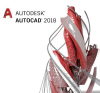 Autodesk AutoCAD LT 2018 Commercial New Single-user ELD