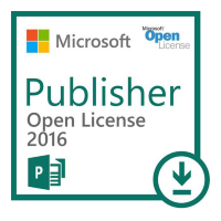Microsoft Publisher 2016 ENG OLP A Gov