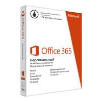 Microsoft Office 365 Personal (x32/x64) All Lng на 1 год на 1 ПК (электронная лицензия) [QQ2-00004]