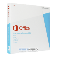 Microsoft Office 2013 Home & Business PKC Microcase [0K53PR]