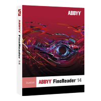 ABBYY FineReader 14 Standard (Коробка) [AF14-1S1B01-102]